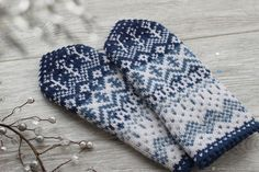 Knit Mittens, Knitted Gloves, Knitting Patterns, Norwegian Knitting, Sewing, Crafts, Tejidos, Gloves, Sweater Mittens