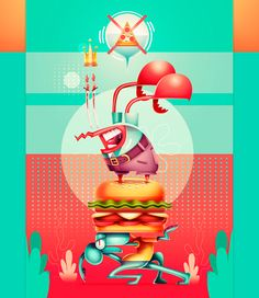 La siguiente ilustraci{on es un pequeño fan art a tal vez una de las series que influencian a diario ilustradores y creativos :D