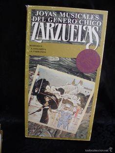 JOYAS MUSICALES DEL GENERO CHICO ZARZUELAS