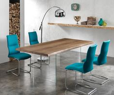 Tavolo Float legno massello e vetro | Tables, Desks and House