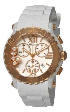 Chopard women`s 288515-9001 Happy Sport Round Rose Gold Chronograph Watch $8,136.80