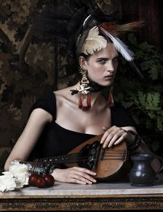 Josh Olins for Vogue UK