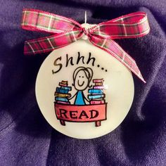 BE QUITE! Shhh... great gift for your favorite librarian who always fines the right book for you. Have it personalized for free.