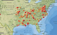 Battlefields of the Civil War Map & Timeline http://storymaps.esri.com/stories/civilwar/