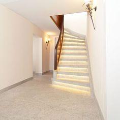 leichtbaustufen und treppe ber treppe system in kombinierter anwendung treppenhaus mit runder. Black Bedroom Furniture Sets. Home Design Ideas