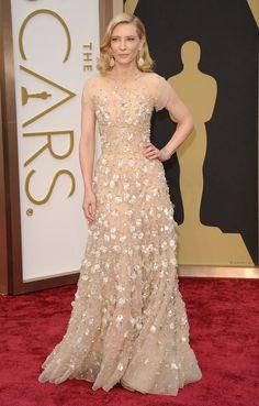 Cate Blanchett aux Oscars en 2014