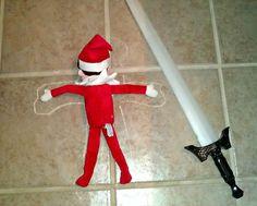 Elf on the Shelf Ide