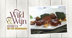 Deze hertenbiefstuk met rode wijn is gemakkelijk zelf te bereiden! Meer Wild & Wijn recepten ontdekken? Kijk op www.lidl.nl #wildenwijn #wijn #Lidl