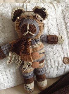 Teddybär gehäkelt