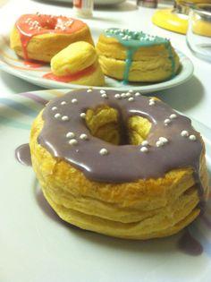 DIY Cronuts and Cronut Holes.