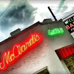Hot Springs, Arkansas - my hometown - the BEST BarBq - made the list!!