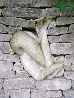 I chose this pin because it is a sculpture inside of a wall which is really unique.  This is a low relief sculpture as well as carving.