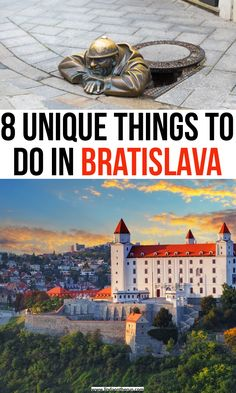 Headed to Bratislava? Here I've listed 19 best things to do in Bratislava that you do not want to miss that will definitely enhance your visit to Bratislava European Travel Tips, Europe Travel Guide, European Destination, Travel Destinations, Travel Abroad, Tahiti, Day Trips From Vienna, Road Trip, Bratislava Slovakia