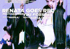 RENATA GOES RED