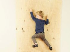 DIY-Anleitung: Kletterwand für Kinder selber bauen via DaWanda.com