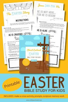 Christ-Centered Easter Bible Study for Kids