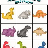 Dino Adventure Bingo 7