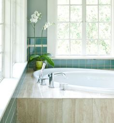 Good colors to work with retro turquoise bathroom tile