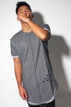 Oversize Tee shirt Vip Clothing 5200 Grey - realnswag, boutique en ligne de vêtements streetwear et swag clothing!