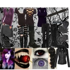slenderman's daughter by creepypasta-music-anime-love on Polyvore featuring J…