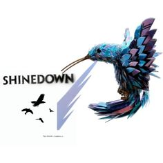 Shinedown, I want this bird tattooed on my body... As soon as possible!