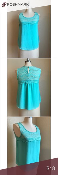 ❤️Mint Green Tank❤️ Excellent condition. Size small. No rips, stains or tears. Tops Tank Tops
