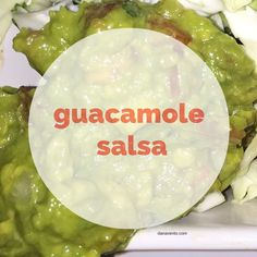Guacamole Salsa Get Those Chips Ready To Dip