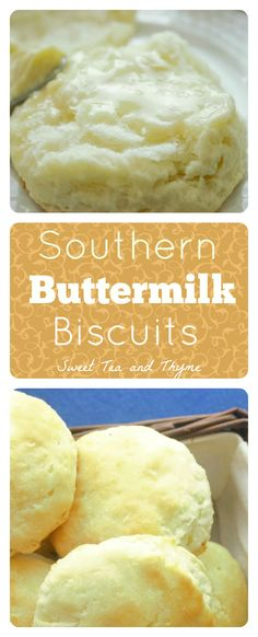 Authentically Southern Buttermilk Biscuits! Recipe from a southern belle who has never lived above the Mason-Dixon line. Can't get more authentic than that!
