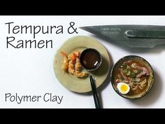 Shrimp Tempura & Pork Ramen - Polymer Clay Tutorial - YouTube