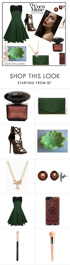 """""""Untitled #105"""" by melly-di ❤ liked on Polyvore featuring Giuseppe Zanotti, Kate Spade, Honora, WithChic, Morphe and Guerlain"""