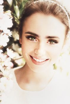 Lily Collins ♥ --  Get $100 worth of beauty samples