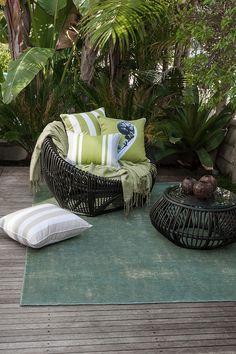 Orakei - Atlantic - Orakei - In & Outdoor Cushions & Floor Rugs - MULBERI - Furtex