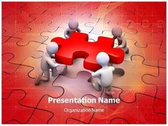 Globe Puzzle Powerpoint Template Is One Of The Best Powerpoint