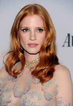 Jessica Chastain. She is perfect