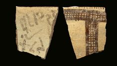 """An alphabetic inscription written on a jar fragment found at the site of Tel Lachish in Israel and dating back around 3,450 years may provide a """"missing link"""" in the history of the alphabet, a team … Words Containing, Longest Word, Missing Link, Archaeology, A Team, Israel, Alphabet, Old Things, Jar"""