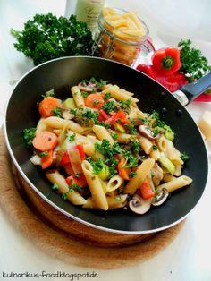 Kulinarikus: Nudel-Gemüse-Pfanne