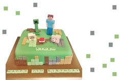 Minecraft cakes have been so popular but they can be really easy to make if you have the right equipment or buy the decorations separately. Either way, here's how to make a Minecraft cake.