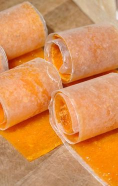 Chia fruit rollups  Made - Great! Blend:  6.5 oz peach applesauce, pulp and juice from 4 peaches,  1 TBsp chia seeds,  2 stevia, 1 tsp lemon juice, 1/2 tsp pectin.  Follow dehydrator instruction. Modified recipe from www.loveumadly.com with fantastic recipes and tips!