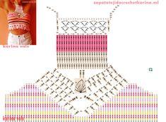 How to Crochet a Little Black Crochet Dress - Crochet Ideas Top Tejidos A Crochet, Crochet Bra, Crochet Bikini Pattern, Crochet Halter Tops, Crochet Shirt, Crochet Crop Top, Crochet Diagram, Crochet Clothes, Crochet Symbols