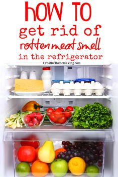 Easy DIY tips for getting rotten smell out of the fridge! How to successfully fight bad odors with homemade and store bought fridge deodorizers. #cleaninghacks #cleaninghints #cleaning #cleaningtips #creativehomemaking Best Refrigerator, Canning Recipes, Homemaking, Deodorant, Cleaning Hacks, Baking Soda, Helpful Hints, Easy Diy