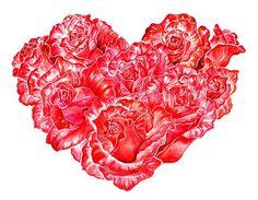 love heart roses- Sunny Gu