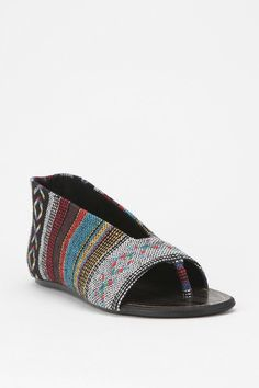 Urban Outfitters - Joe's Jeans Truly Print Thong Sandal