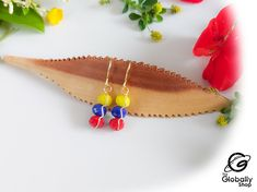 Etsy, Products, Gold Wire, Venezuela Flag, Body Lotion, Ear Studs, Tent, Gadget