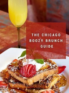 May the breakfast cocktails floweth over. Rooftop Bars Chicago, Chicago Bars, Best Brunch Chicago, Bottomless Brunch, Mouth Watering Food, Chicken And Waffles, Breakfast Time, Restaurant Recipes, Delish