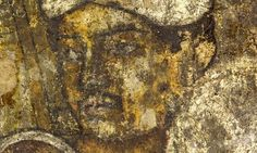 The Ajanta cave murals: 'nothing less than the birth of Indian art.' Dated from 90-70 BCE, near Aurangabad, Maharashtra, western India.