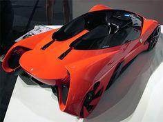 """Tres estudiantes de la Universidad Hongik Seúl Corea del Sur, ganaron el """"Concurso de Diseño de Ferrari 2011"""", con este híbrido llamado """"Eternita""""."""