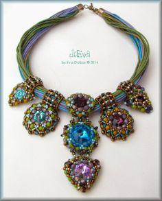 Ameera Necklace by Eva Dobos  Beautilful!!