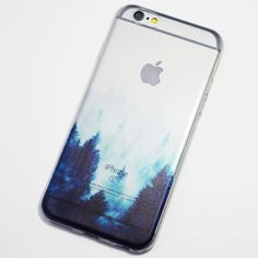 Foggy Trees iPhone 6 / 6S Soft Case