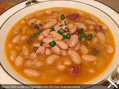 Pasul (Albanische Bohnensuppe), ein gutes Rezept aus der Kategorie Kochen. Bewertungen: 20. Durchschnitt: Ø 4,4.