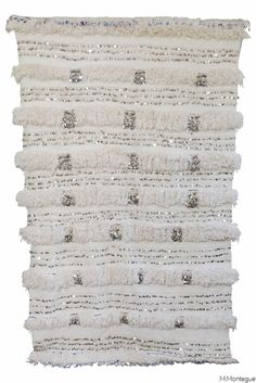 Beautiful vintage Moroccan wedding blanket from the Maryam Montague store. Part of Maryam's collection of her very best!